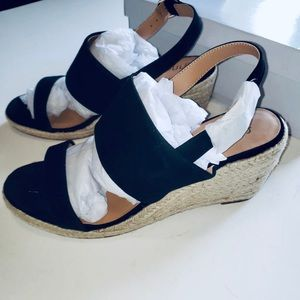 Amazon Brand-find. Suede Leather Wedge Heel